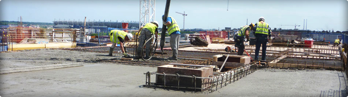 Concrete Distribution / Pumping | Midwest Formwork (UK) Ltd